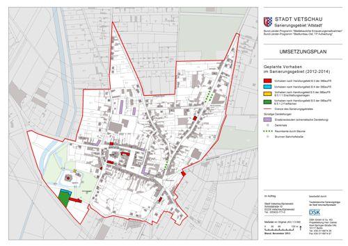 Umsetzungsplan 2012 - 2014